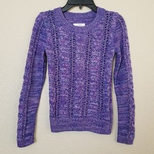 Justice Sparkly Sweater Girls Size 10